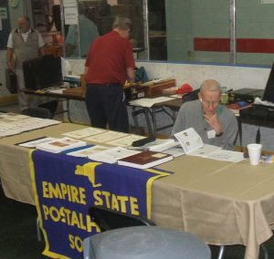 Al Parsons manning the ESPHS table at ROPEX 2015