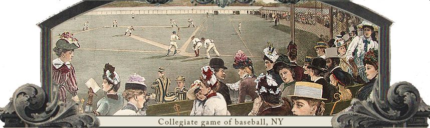 Collegiate Game of Baseball, NY